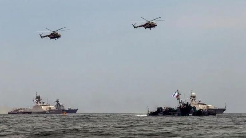 15 руски бойни кораби, Каспийска флотилия, Черно море