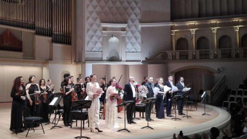 Оркестър il-pomodoro, Зефира Вълова, концерт, зала Чайковски, Москва