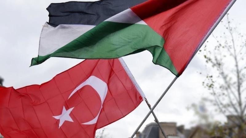 Турция, защита, палестинци