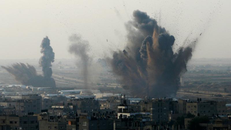 Сирени, Южен Израел, въздушни удари, Газа