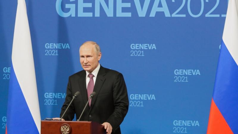 Путин, Байдън, среща, Женева