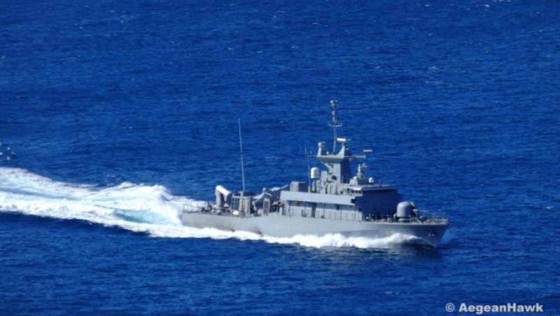Гърците, катер, Черно море, Черноморски флот