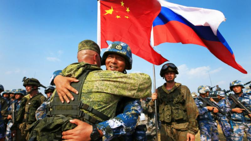 Китай, руски войски, военни учения