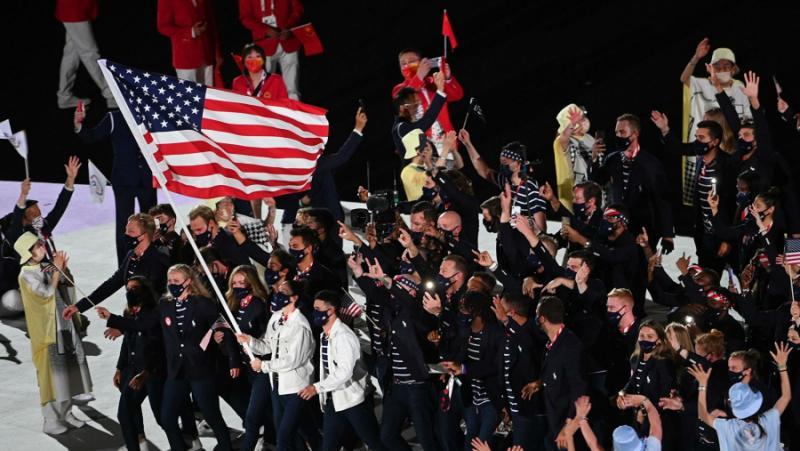 Американци, изгонени, Олимпиада