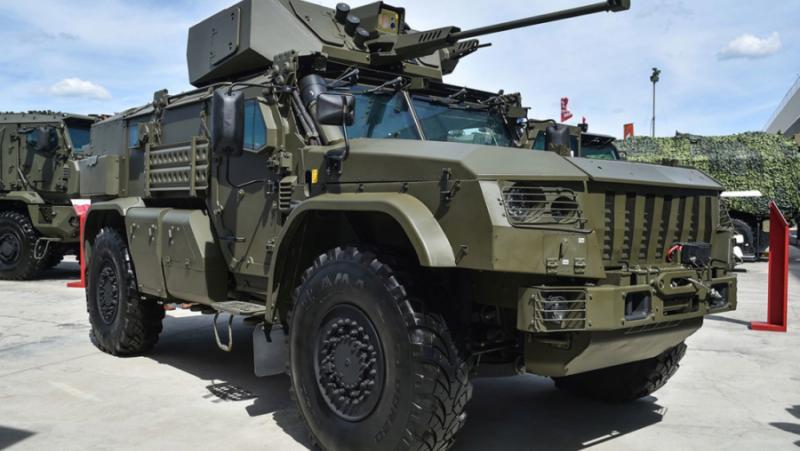 Русия, Въздушно-десантни войски, бронирани машини, Тайфун-ВДВ