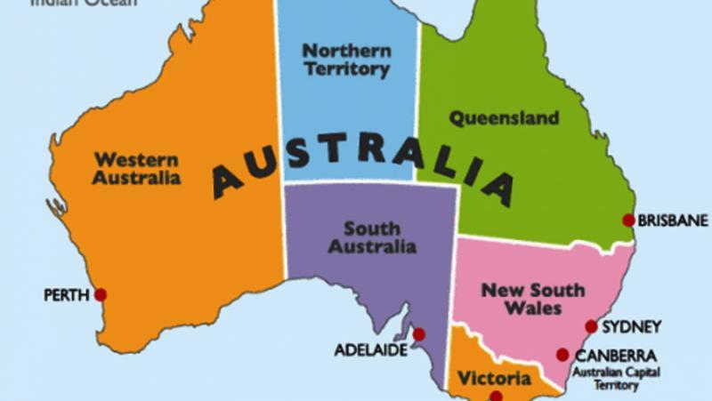 Австралийски щат, изключва, неваксинирани, икономика