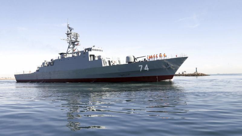 Иран, историческа мисия, Атлантическия океан