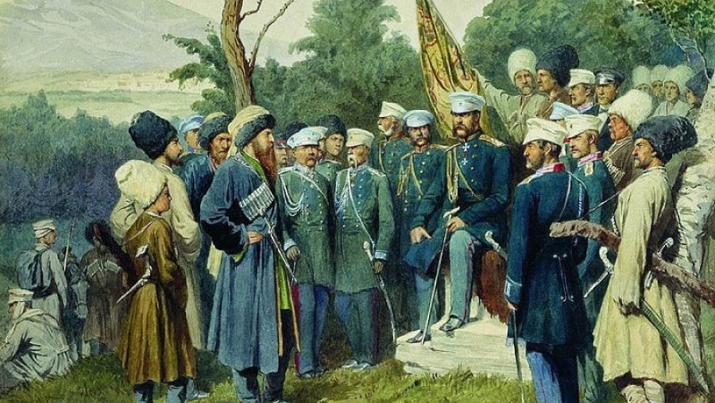 Русия, покорява, Кавказ