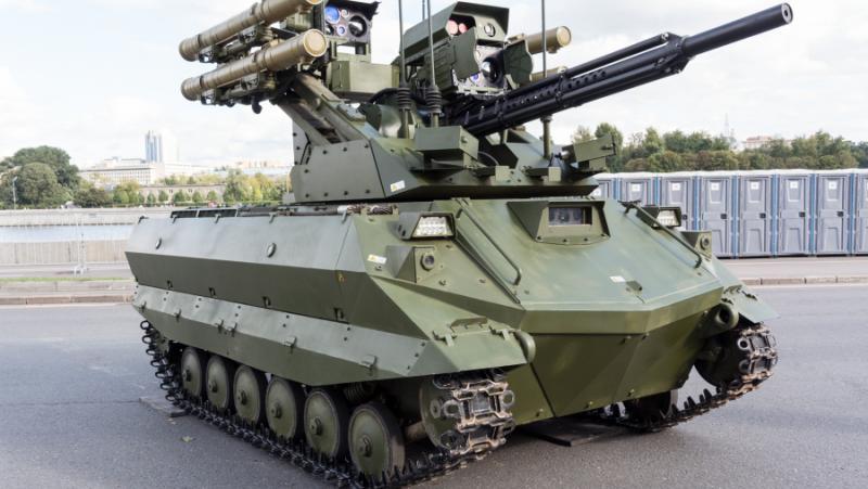Бойни роботи Уран-9, Руска армия, 2022