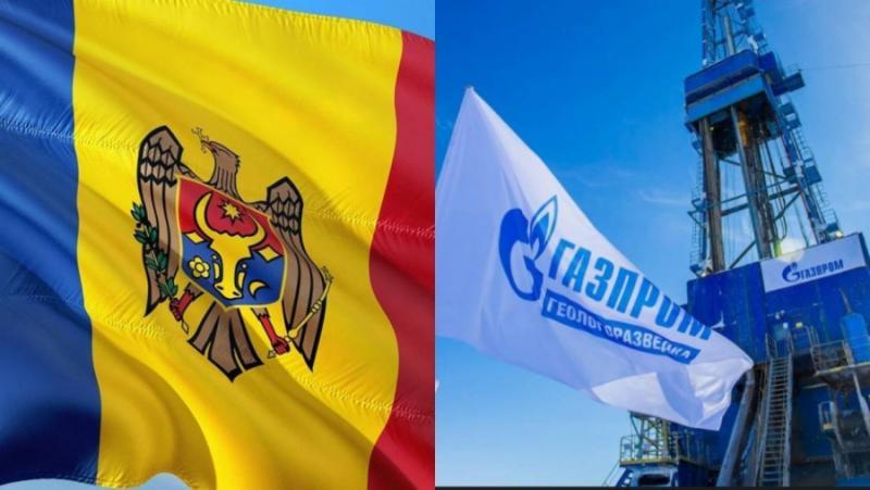 Газпром, Молдова, отдалечаване, Украйна