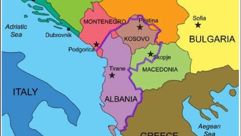 Опасна, Велика Албания