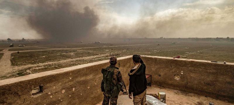 Американска база, Сирия, ракетен обстрел, дронове