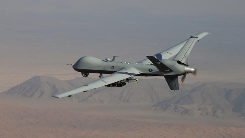 Атака, дронове, САЩ, Сирия