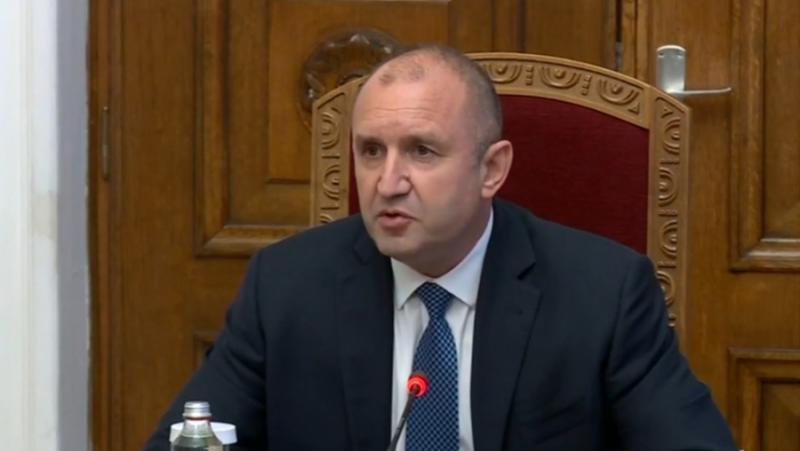 Радев, среща, министри, служебно правителство, КОВИД-19