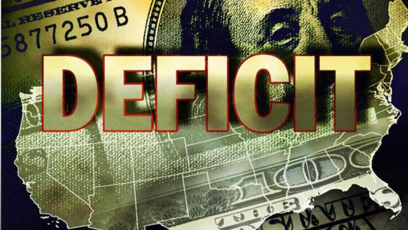 Hill, САЩ, бюджетен дефицит, история