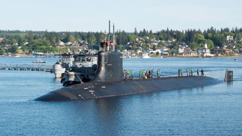 Global Times,сблъсък, подводница, USS Connecticut, Южнокитайско море